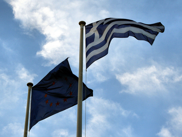 Λάθος του Τσίπρα να μην μοιράσει ευρωπαϊκές σημαίες στο δημοψήφισμα
