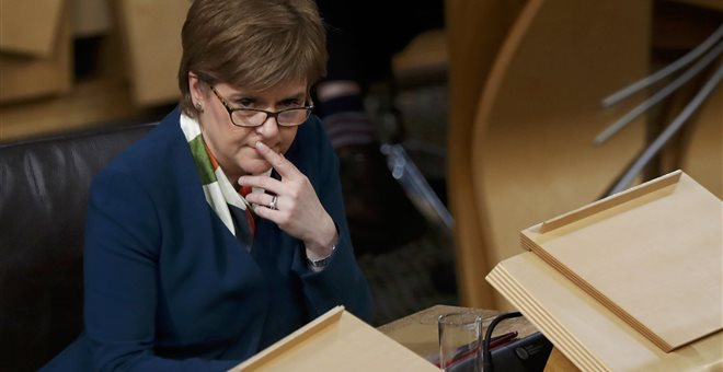 Νίκολα Στέρτζιον: Πιο κοντά ένα δεύτερο δημοψήφισμα ανεξαρτησίας της Σκωτίας